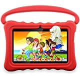 Kids Tablet,Yue Ying 7 inch Tablet for Kids,Google Android 6.0,Per-Installed iWawa APP,IPS Display Screen,1GB+8GB,Wi-Fi,Bluetooth (Red)