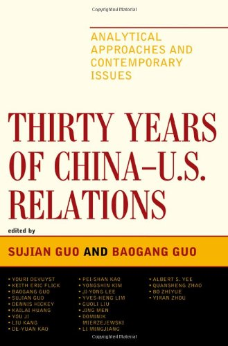 Thirty Years of China - U.S. Relations: Analytical Approaches and Contemporary Issues (Challenges Facing Chinese Political Development)