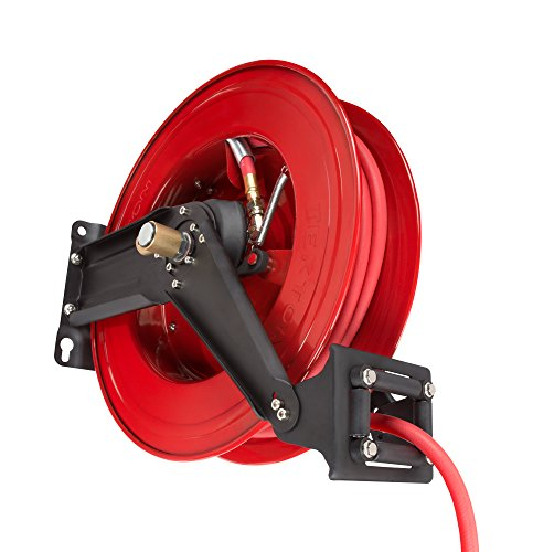 TEKTON 50-Foot by 3/8-Inch I.D. Dual Arm Auto Rewind Air Hose Reel (250 PSI) | 46875 by TEKTON (Image #2)