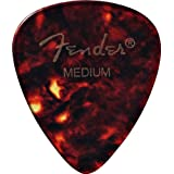 Fender 351 Classic Celluloid Guitar Picks 12-Pack - Shell - Medium