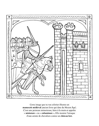 Amazon In Buy Chevaliers Le Moyen Age A Colorier Book Online At