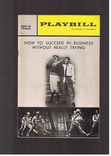 How To Succeed in Business Without Really Trying: Playbill