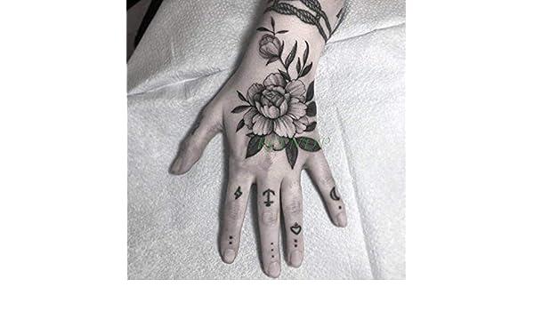 8 Piezas de Pegatinas de Tatuaje Impermeables, Leones, Arte Hecho ...