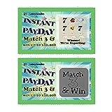 Pregnancy Announcement Scratch Off Pregnancy Reveal Lotto Scratcher Replica Card, 5 tickets