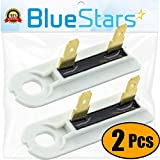 3392519 Dryer Thermal Fuse Replacement part by Blue Stars - Exact Fit for Whirlpool & Kenmore Dryers - PACK OF 2