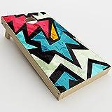 Skin Decal Vinyl Wrap for Cornhole Game Board Bag Toss (2xpcs.) Skins Stickers Cover / Pop Art Design