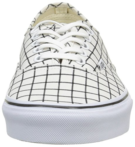 Vans - Authentic, Zapatillas Unisex adulto Blanco (Grid/True White)