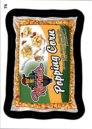 Four Cedar (2016 Wacky Packages MLB #74 Cedar Rapids Kernels Popping Corn)
