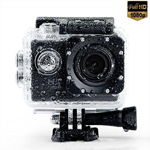 TOPGEEK WIFI Waterproof Action Camera 2.0inch FHD 1080P Sports Camera with Rechargable Battery and Free Accessories Action Cameras SHENZHENSHI TUOPUWANG DIANZI SHANGWU YOUXIAN GONGSI