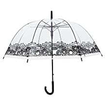 Transparent Dome Shape Umbrella for Wind and Heavy Rain