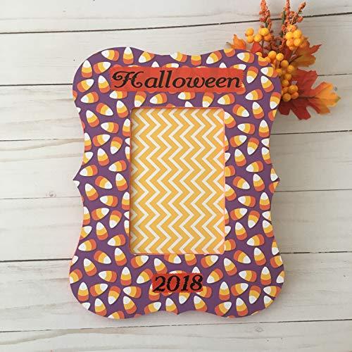 Halloween Decor-Spooky Halloween Frame-Personalized Halloween Picture Frame-Halloween Picture frame-Halloween Frames -Halloween 2018