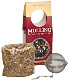 Dean Jacobs Mulling Infuser & Spice Set, Mulled Cider & Mulled Wine , 5.5-Ounce Bag (Pack of 3)
