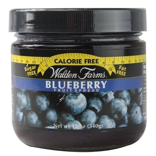 Walden Farms Blueberry Fruit Spread Calorie Free, Carb Free, Fat Free, Sugar Free ()