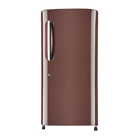 dc219486711 LG 215 L 5 Star Inverter Direct Cool Single Door Refrigerator (GL-B221AASY