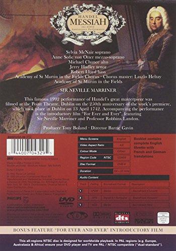 Handel: Messiah (250 aniversario de rendimiento)
