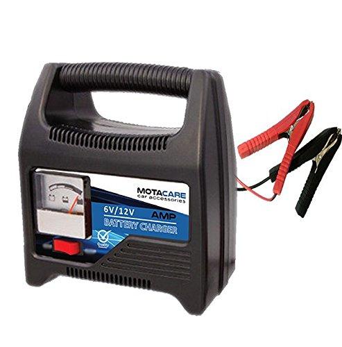 Streetwize Car Van /& Motorbike 4 Amp 6V /& 12V Electronic Smart Battery Charger