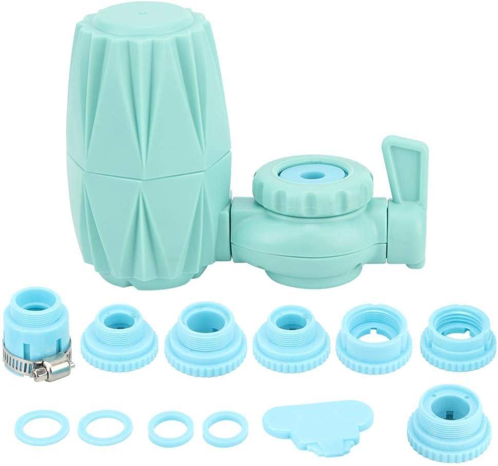 AUNMAS Faucet Filtro de Agua Faucet Connect Sistema de filtración de Agua Sistema de Filtro de Agua para Fregadero de Cocina o baño Purificador de Grifo de filtración ...