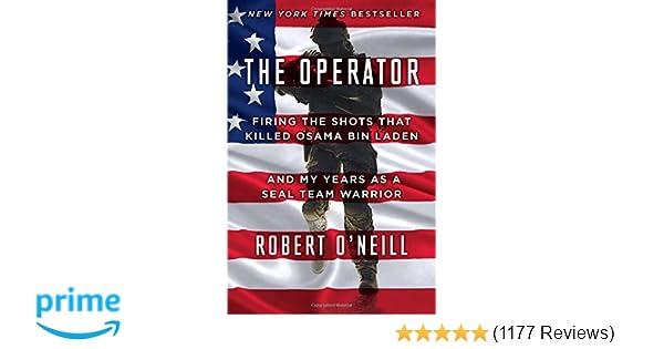 Amazon com: The Operator: Firing the Shots that Killed Osama
