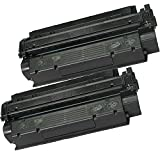 2 Inkfirst® Toner Cartridges C7115X (15X) Compatible Remanufactured for HP C7115X Black LaserJet 1000 1200 1200n 1200se 1220 1220se 3300 3310 3310 MFP 3320 3320 MFP 3320n 3320n MFP 3330 3330 MFP 3380