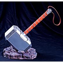 Gmasking 2016 Aluminum Mjolnir Thor Adult Hammer Collectible Upgrade Edition 1:1 Replica