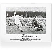 $83 » Jimmy Greaves Signed Tottenham Hotspur Photo - vs Bristol City Autograph - Autographed Soccer Photos