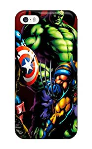 Tough Iphone HKUXwCH1035Wzool Case Cover/ Case For Iphone 5/5s(marvel)