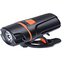 Yaochen Luz de bicicleta recarregável por USB, farol de bicicleta super brilhante 1200 mAh 800 lm, luz traseira de LED…