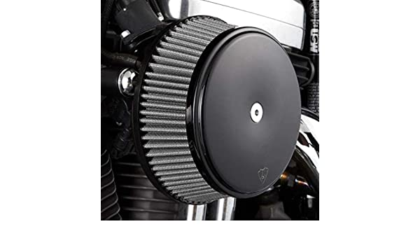 Arlen Ness 50-335 Black Big Sucker Stage I Air Filter Kit with Cover