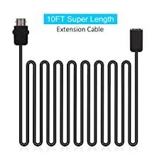 NES Cable Extension, CBSKY® 10FT Extend Link Extension Cable For Nintendo Mini NES Classic Edition