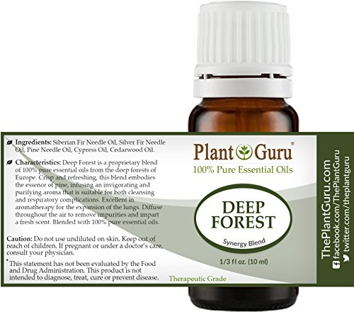 Deep-Forest-Synergy-Essential-Oil-Blend-10-ml-100-Pure-Undiluted-Therapeutic-Grade-Aromatherapy-Respiratory-System-Support-Air-Purifier-Sinus-Cold-and-Flu-Relief-Natural-Christmas-Scent
