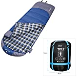 Cheap Outdoor Camping Adult Hiking Sleeping Bag Envelope Hollow Cotton Warm Sleeping Bags for Camping and Hiking