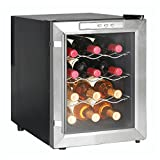 Newair Appliances 12-bottle Wine Cooler, Digital temperature control and display