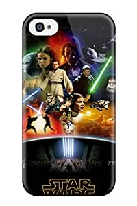 LftJKzk6918uFGmT JenniferLynn Star Wars Saga Durable Iphone 4/4s Tpu Flexible Soft Case