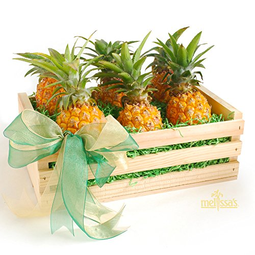 Melissa's Baby Pineapples Crate