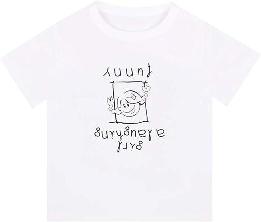 Camiseta Mujer Verano Niche Manga Corta Vintage niña Corta Camisa Blanca: Amazon.es: Ropa y accesorios