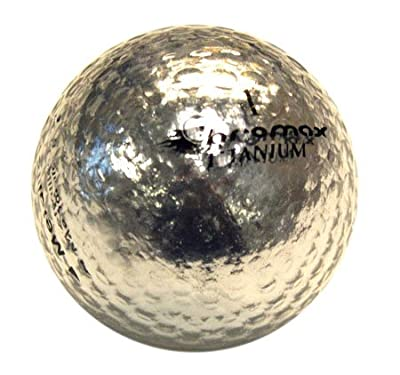 Golf Chromax M1 Golf Ball Silver Shiny 3 Balls Sleeve