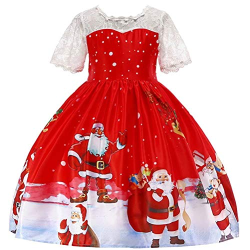 Toddler Little Girls Princess Party Dress Christmas Dress Outfits