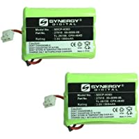 at&T E5912b Cordless Phone Battery Combo-Pack Includes: 2 x SDCP-H303 Batteries
