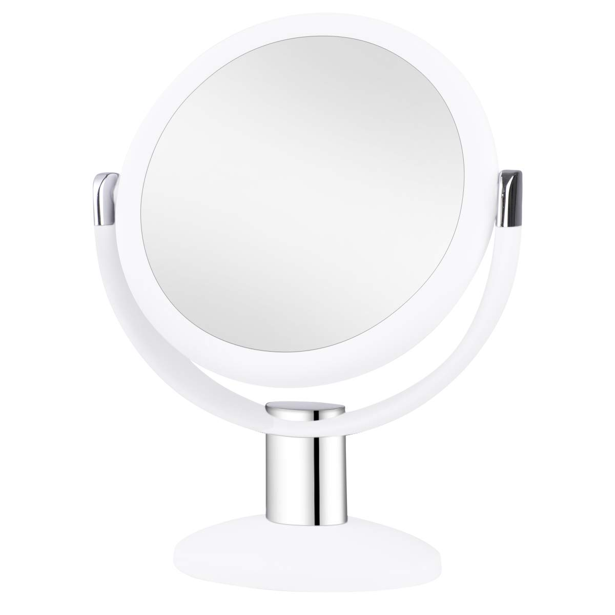 KEDSUM 1X & 10X Double Sided Magnifying Makeup Mirror, Vanity Mirror with Magnification and 360 Degree Rotation for Bathroom Bedroom Table Top