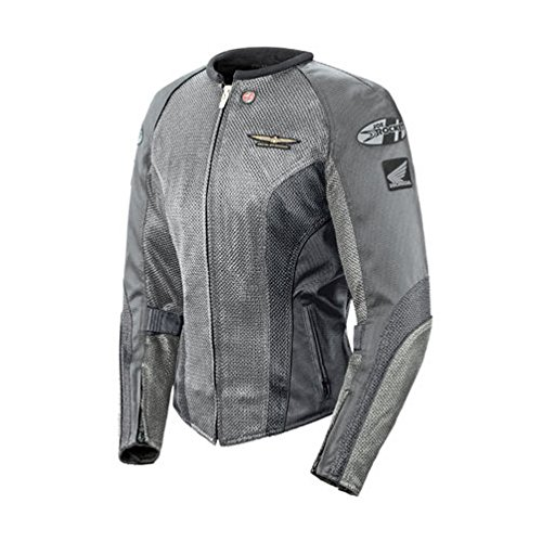 Joe Rocket Honda Goldwing Skyline 2.0 Jacket Silver/Grey Womens MD Goldwing Skyline Mesh Jacket