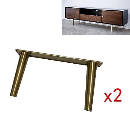 Astonishing Amazon Com Metal Cabinet Feet2 Brass Stainless Steel Tv Inzonedesignstudio Interior Chair Design Inzonedesignstudiocom