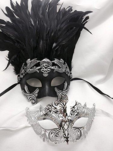 Roman (His And Hers Masquerade Ball Masks)