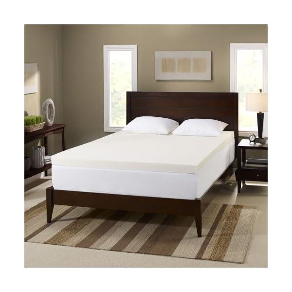 serta 3 inch memory foam mattress topper 4 pound density. Black Bedroom Furniture Sets. Home Design Ideas