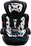 Mcc 3in1 Convertible Baby Child Car Safety Booster Seat Group 1/2/3 9-36 kg [PINK* GREY* ORANGE* RED* BLUE* SPOTTED* LEOPARD*] (Spotted)