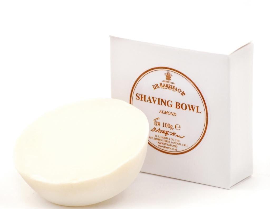 D.R.Harris & Co Almond Triple-Milled Shaving Soap Refill 100g D.R. Harris dr-shave-ref