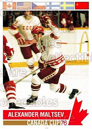 (CI) Alexander Maltsev Hockey Card 1992 Future Trends Canada Cup 1976 (base) 161 Alexander Maltsev