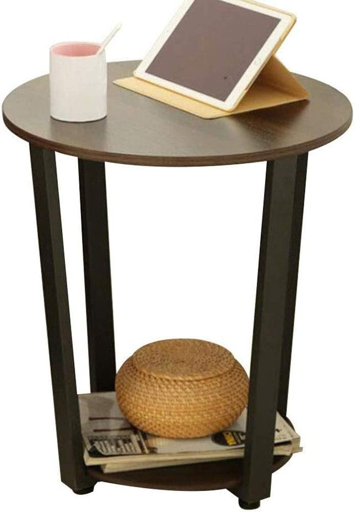 Amazon Com Dwlxsh Furniture Rustic Farmhouse Round Metal Coffee