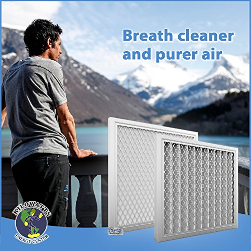 11x11x1 Washable Permanent A/C Furnace Air Filter by Kilowatts Energy Center (Image #6)