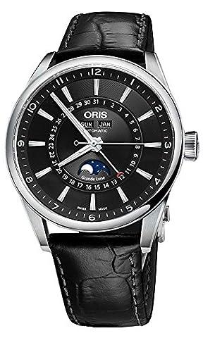 Oris Artix Complication Moonphase Automatic Mens Watch 915-7643-4034LS (Watch Automatic Oris)