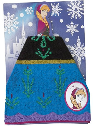 Price comparison product image 4992272621440 Anna and The Snow Queen jacquard handkerchief towel/dress up Ana